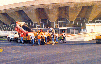 Assembly Hall Paving