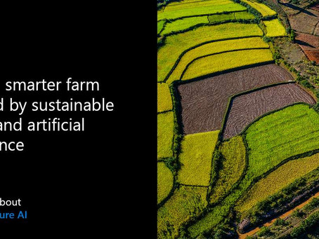 Follow Synegrate to get more information about smarter farming with AI and Azure