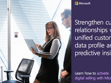 Refine and enhance your digital buying experience with Microsoft AI customer insights. Subscribe now
