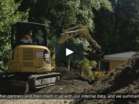 Watch this video to see how Finning used the Azure IoT platform to enhance customer experience