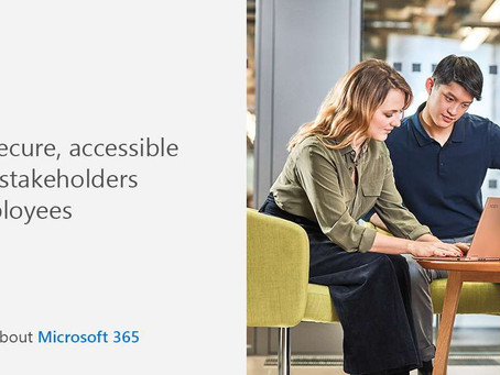 Learn more about how Microsoft 365 can provide easy access with advanced security to all stakeholder