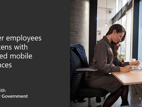 Empower employees and citizens with connected mobile experiences to access information.