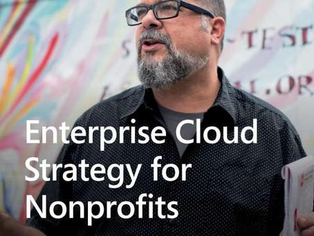 Enterprise cloud strategy for nonprofits. Download free eBook