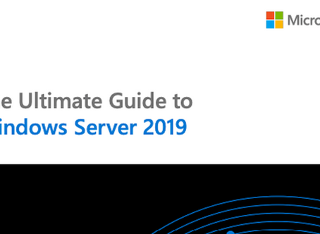 Free eBook: The ultimate guide to Windows Server 2019