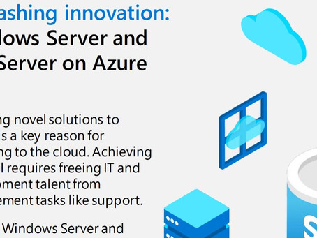 Unleashing innovation: Windows Server and SQL Server on Azure