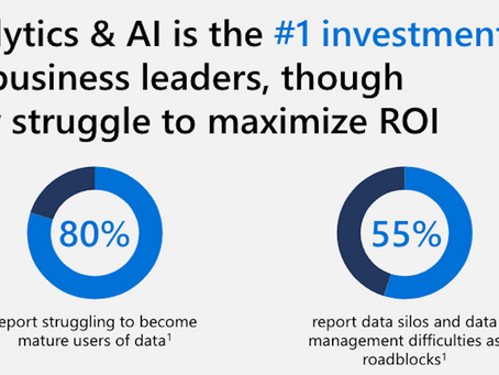 Bring Analytics and AI together with the right ROI