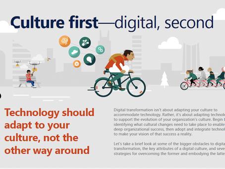 Prioritize culture during digital transformation