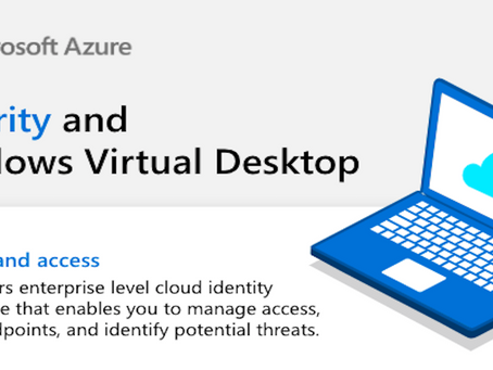 See how you can improve security and protect users with Windows Virtual Desktop