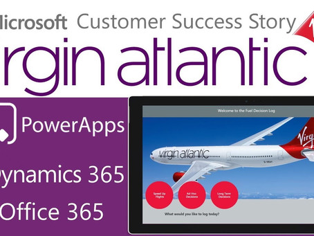 Virgin Atlantic improves internal customer service with Power BI and PowerApps