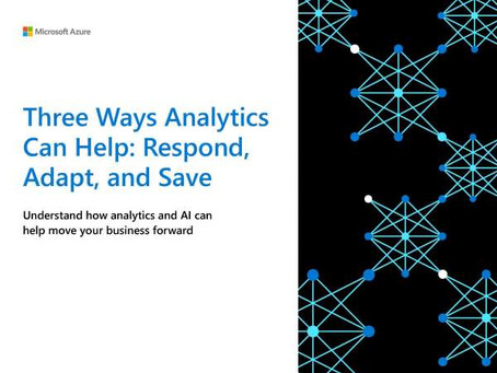 Read this article to uncover ways Azure Analytics and AI can help you respond to the challenges.