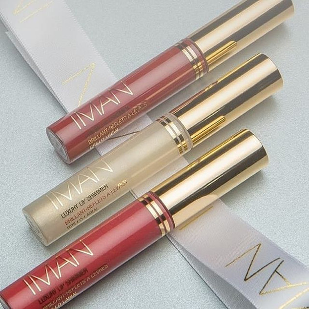 IMAN Luxurious Lip Shimmers