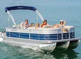 Family pontoon cruise