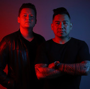 Jusin Boller (aka Sky Mareci) and Valdemar Crame (aka DJ Chino) of Breikthru.