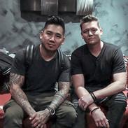 Valdemar Crame (aka DJ Chino) and Justin Boller (aka Sky Mareci) of Breikthru.