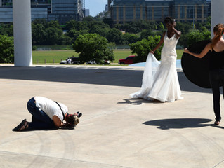 Behind the Scenes with Austin Bridal Fashion