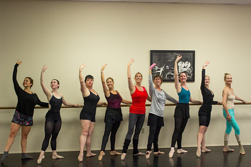 4/26 In-Studio Teen-Adult Ballet with Kara | 11:00am - 12:30pm