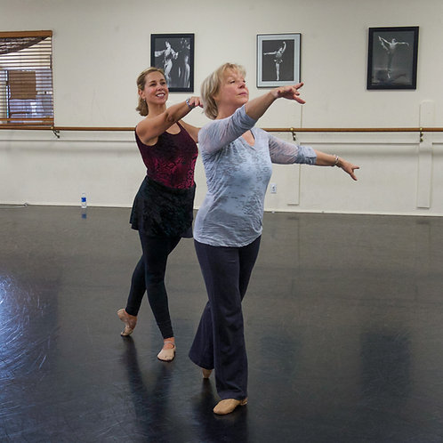 In-Studio Teen-Adult Ballet with Margie | 11:00am - 12:30pm | 12/21