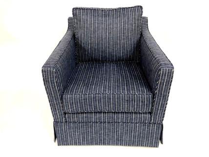 Skirted Club Chair