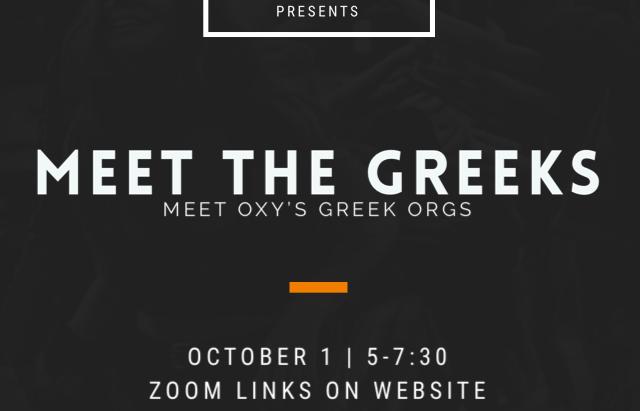 Meet the Greeks!