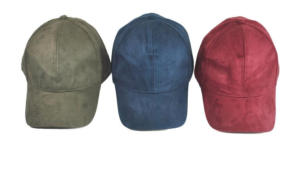 SAMMY SUEDE CAP