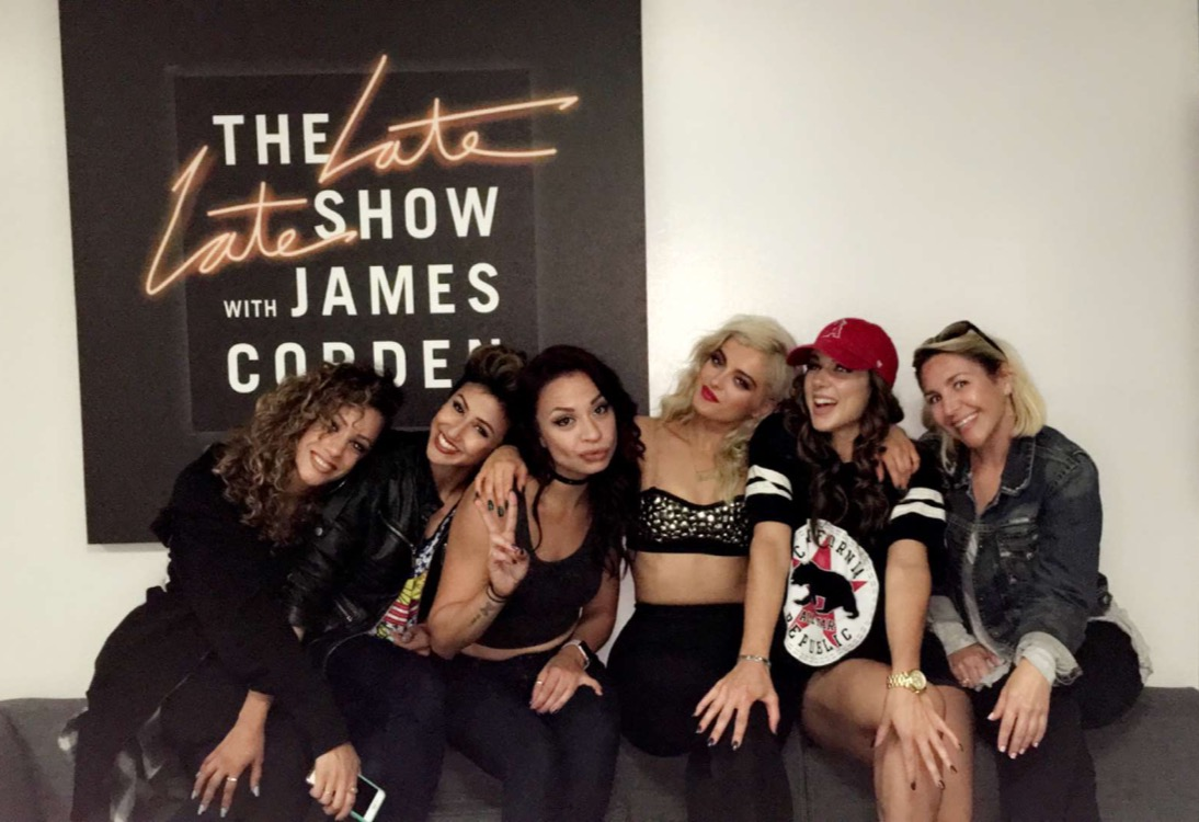 Bebe Rexha on The Late Late Show with James Corden