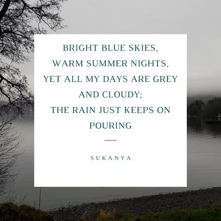 Rain over sunshine