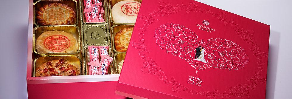 漢式囍餅  $450/盒