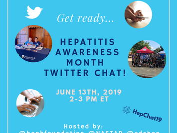 Hepatitis B Awareness Month Twitter Chat!