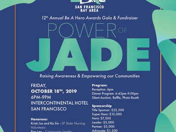 12th Annual Be a Hero Awards Gala & Fundraiser, October 18, 2019