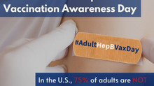 National Adult Hep B Vaccination Awareness Day