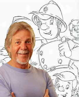 Rob Lee Creator of Fireman Sam