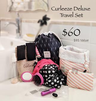 Deluxe Curleeze Travel Set