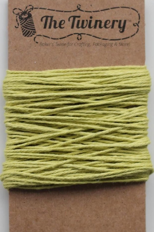 Honeydew Solid Twine, Packaged