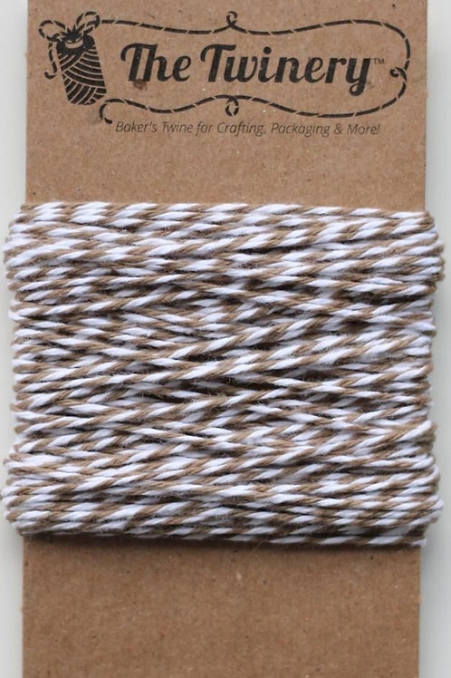 Cappuccino Twinery Twine, Packaged