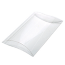 16-67003 Small Pillow Box Clear Packaged