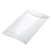 67002 Medium Pillow Box Clear Bulk