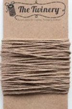 Cappuccino Solid Twine, Packaged