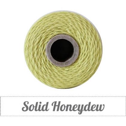 Solid Honeydew Twine