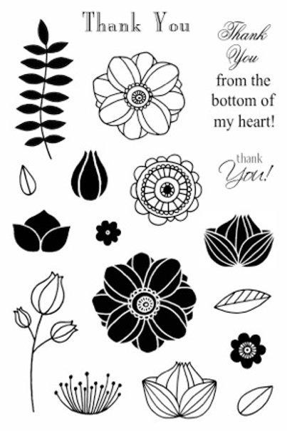 Fancy Doodles - Jane's Doodles Stamp