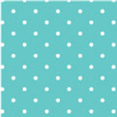 Patterned Vinyl - Turquoise Dots - 10 sheets