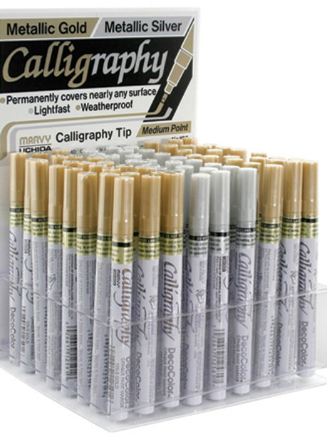 Calligraphy Paint Marker Displays FULL
