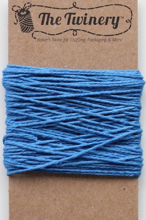 Denim Blue Solid Twine, Packaged