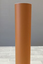 5 Yard Roll - Orange Brown Matte Vinyl