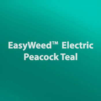 Easy Weed Peacock Teal Electric Heat Transfer