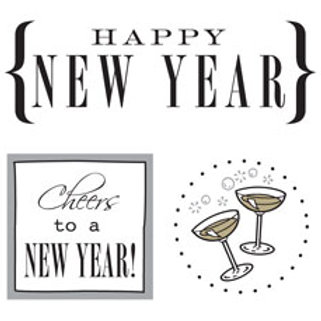52032 New Year Quick Card