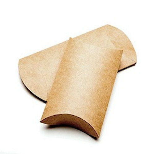 67013 Kraft Pillow Box Large Bulk
