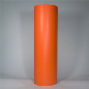 5 Yard Roll - Light Orange Matte Vinyl