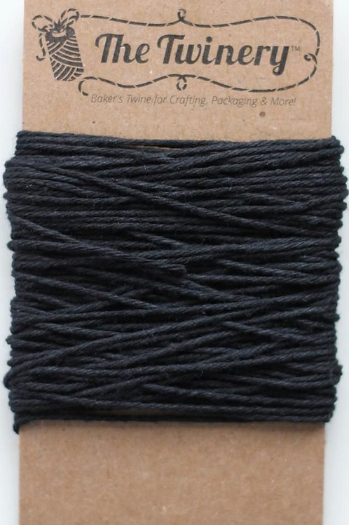 Charcoal Solid Twine, Packaged