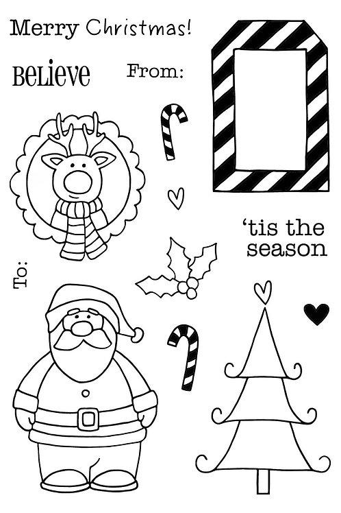 'Tis the Season - Jane's Doodles Stamp