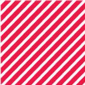 Patterned Vinyl - Red Stripes - 10 sheets
